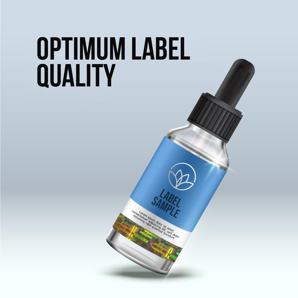 Optimum label quality